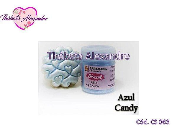 Corante em Pó Candy - Azul