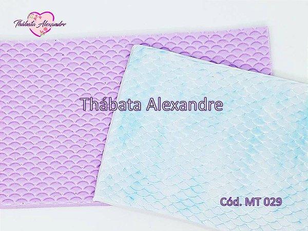 Textura de Silicone - Escama