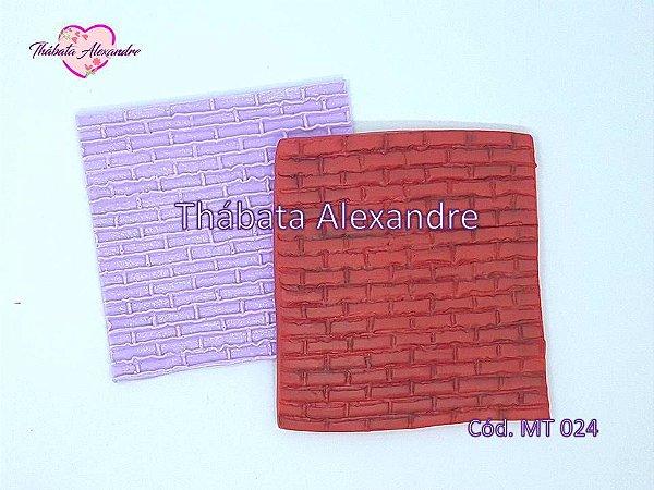 Textura de Silicone - Tijolinho