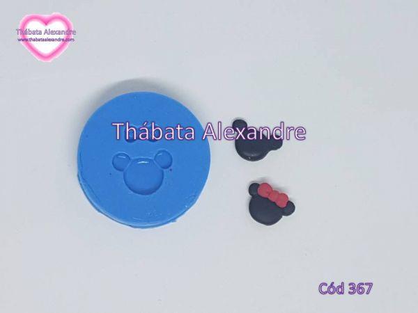 Molde de Silicone Mini Ratinhos
