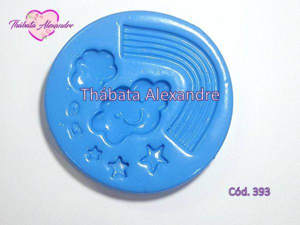 Molde de Silicone Arco Iris G