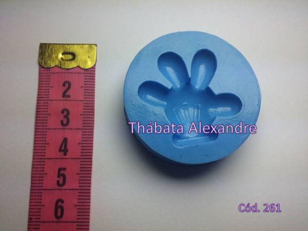 Molde de Silicone Mão do Mickey