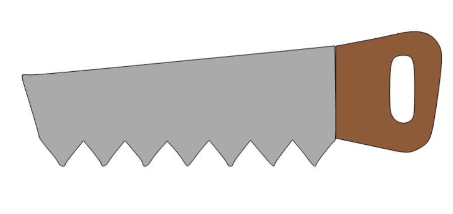 Cortador Serrote 6 Centímetros