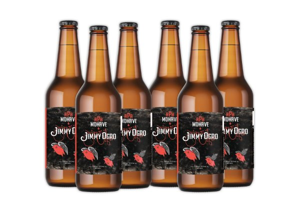 Cerveja Mohave APA + Jimmy Ogro - 500ml - 06 un