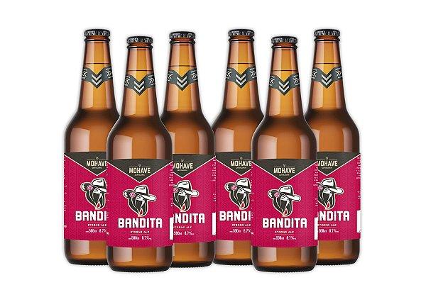 Cerveja Mohave Bandita - 500ml - 06 un