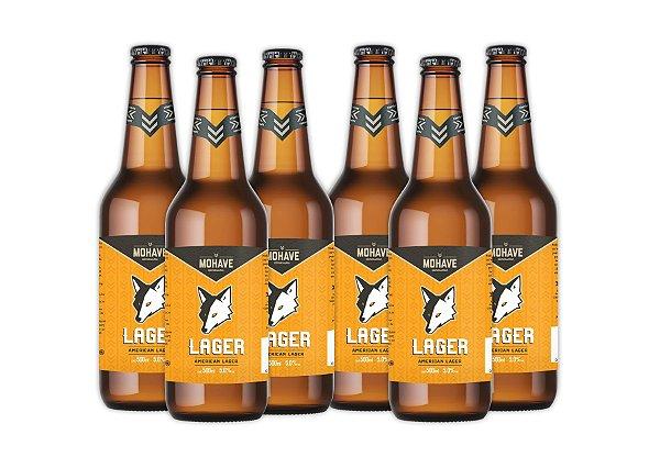 Cerveja Mohave Lager - 500ml - 06 un