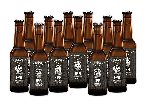 Cerveja Mohave IPA - Long Neck - 355ml - 12 un