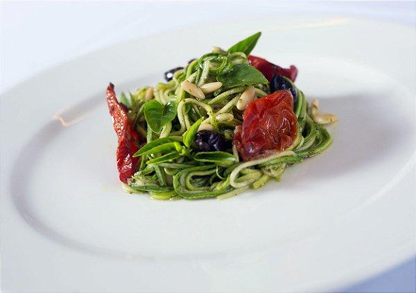 Tagliolini Di Zucchine Alla Mediterranea