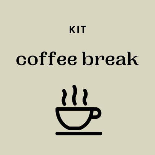 Kit Coffee Break - valor por kit