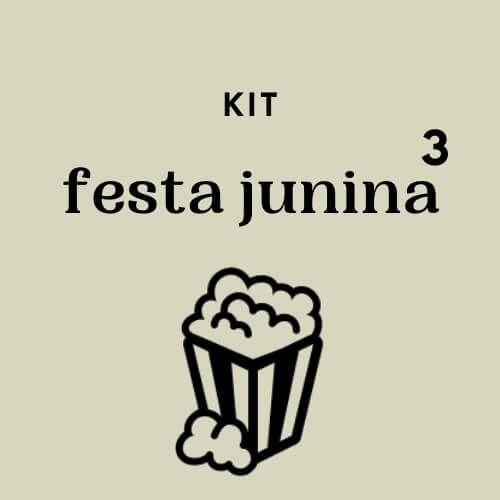 Kit Festa Junina Opção 3 - valor por Kit