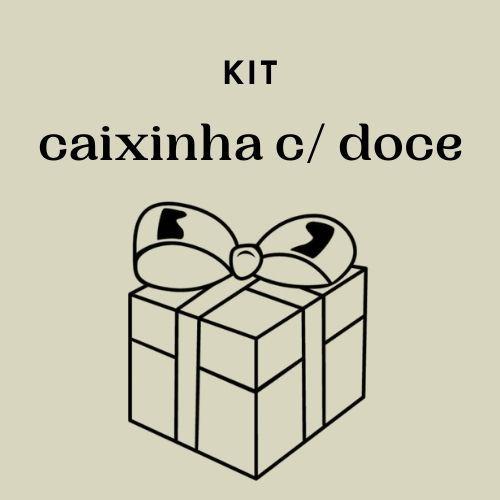 Kit Caixinha com Doces - Valor por caixa
