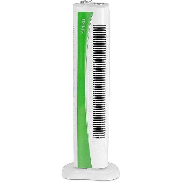 Ventilador Torre 75cm c/Timer Verde