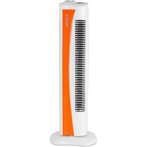 Ventilador Torre 75cm c/Timer Laranja