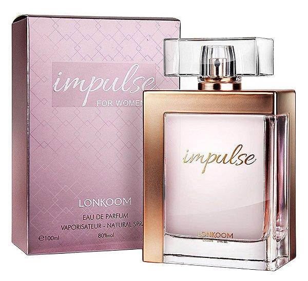 Perfume Impulse for Women Lonkoom Feminino 100ml