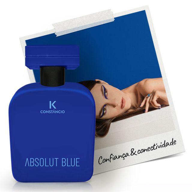 Absolut  Blue deo colônia Kconstâncio