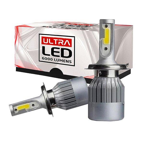 Lâmpada H4 Ultra Led 6000 Lumens - TayTech