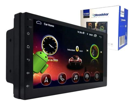Multimidia com Android e Espelhamento Sem Fio Roadstar Universal