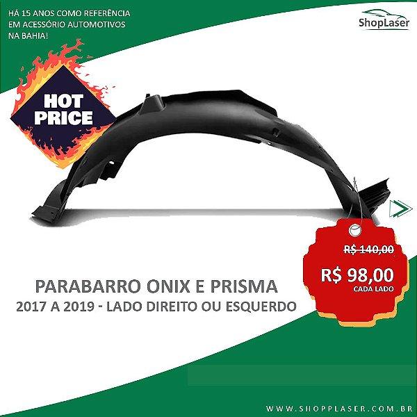 ParaBarro/Lameiro Dianteiro Para Onix e Prisma - 2017 a 2019 - Lado DIREITO