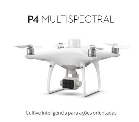 PHANTOM 4 MULTISPECTRAL + D-RTK 2 GNSS MOBILE STATION DE ALTA PRECISAO DJI