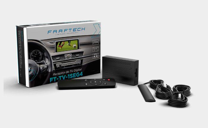 Receptor Para Tv Digital Automotivo - Faaftech