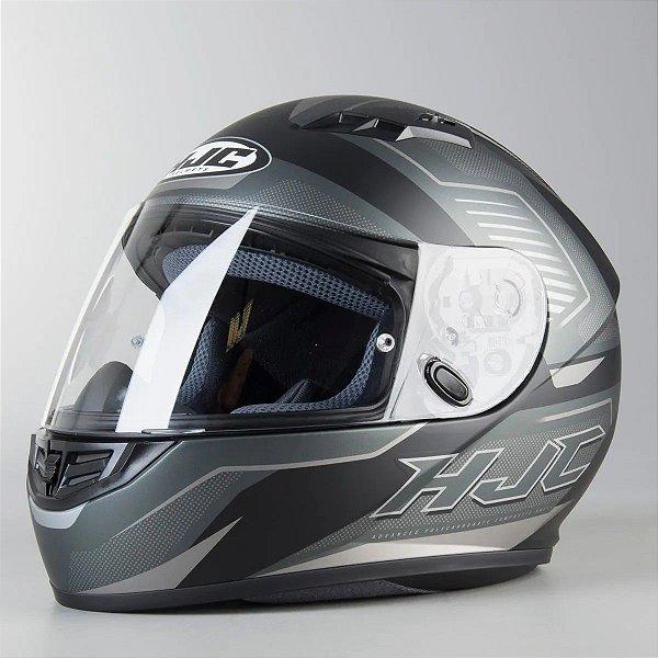 Capacete Moto Hjc Cs-15 Trion Fosco