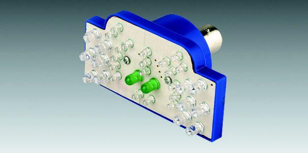 Lâmpada LED Retangular (2 Pólos) com LEDs para Lanterna Traseira 90208010