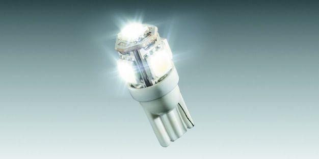 Lâmpada LED Branco (5 LEDs) 90208160