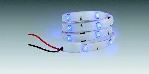 Fita LED Azul à Prova D'água (30cm) 90208210