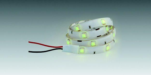 Fita LED Verde à Prova D'água (30cm) 90208220