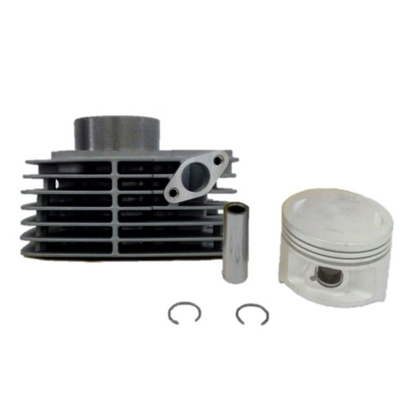 KIT CILINDRO PISTAO E ANEL YES125 2008/13/YES125 2005/07 - METAL LEVE ID 116602