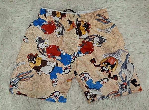 Bermuda Short Praia Looney Tunes (Infantil)
