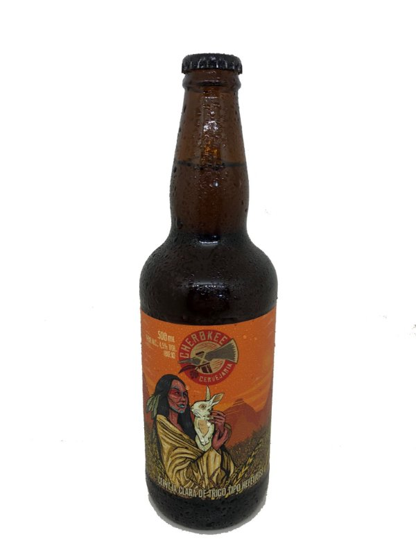 Cerveja Cherokee Weiss 500 ml