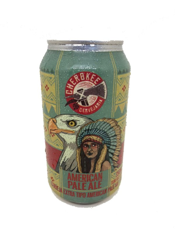 Cerveja Cherokee APA 350 ml lata