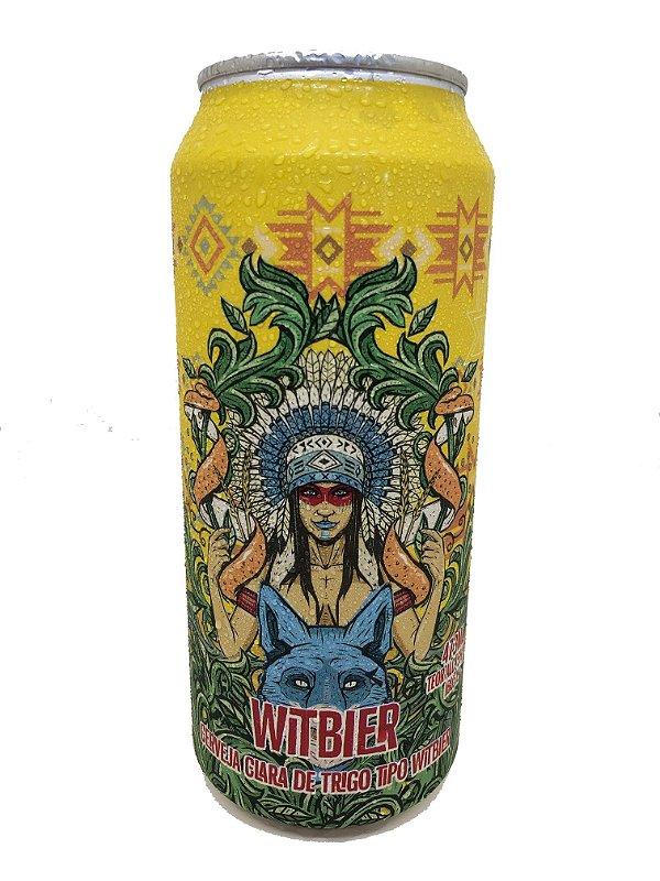 Cerveja Cherokee Witbier 473 ml lata