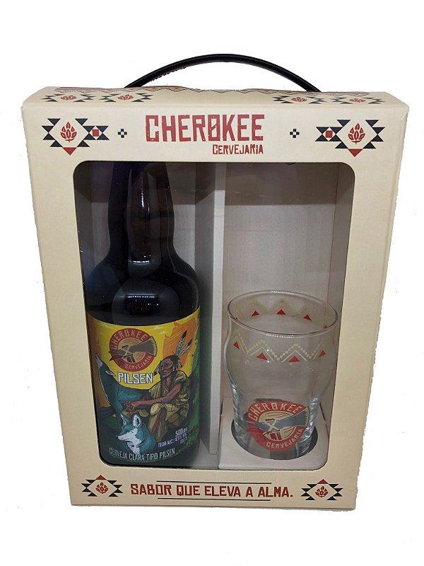KIT Cherokee Pilsen + Copo 285 ml