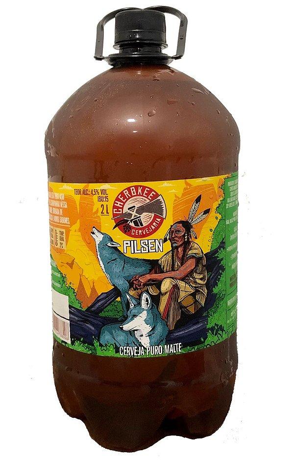 Cherokee Pilsen 2 litros - Chopp em Growler (somente retirada)