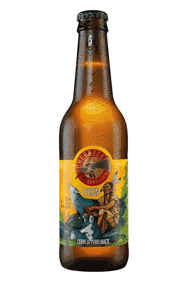 Cerveja Cherokee Pilsen 355 ml