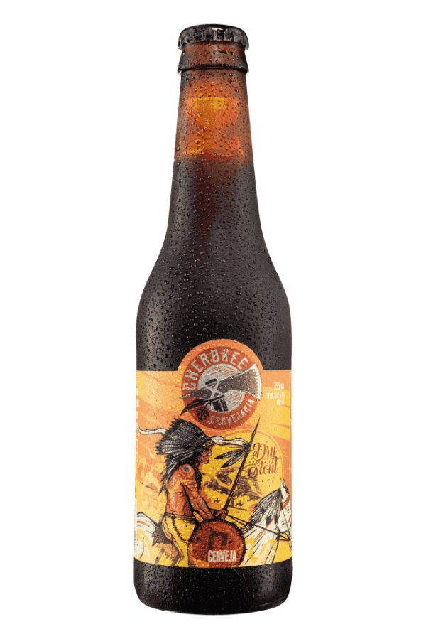 Cerveja Cherokee Dry Stout 355 ml