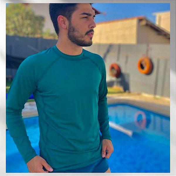 Camiseta Masculina Prot. Solar V. Floresta 6016