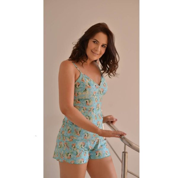 Short Doll Ana Mini Flor H02