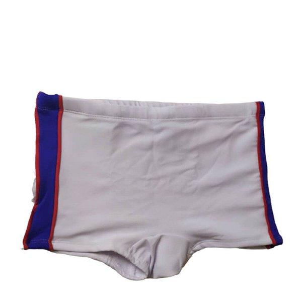 Sunga Boxer Branco Tira Lateral 3011