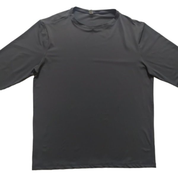 Camisa Com Proteção Solar Adulto Cinza 6008