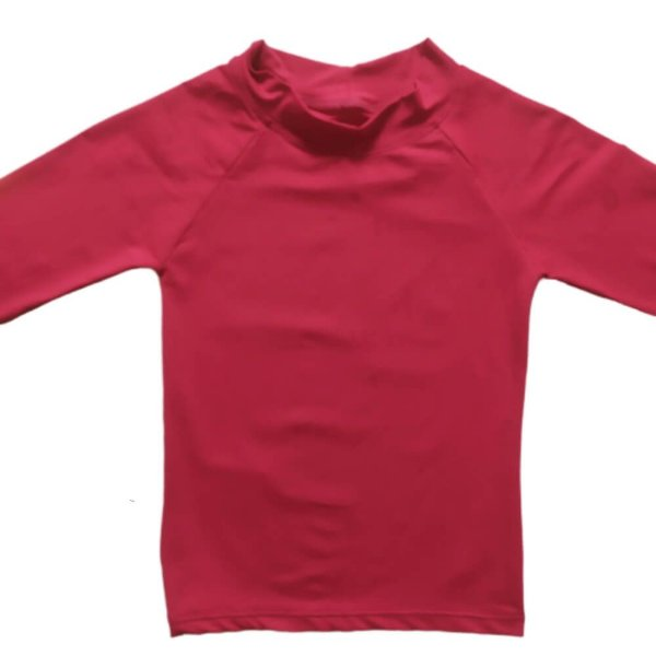 Camisa Com Proteção Solar Infantil Fucsia 6010