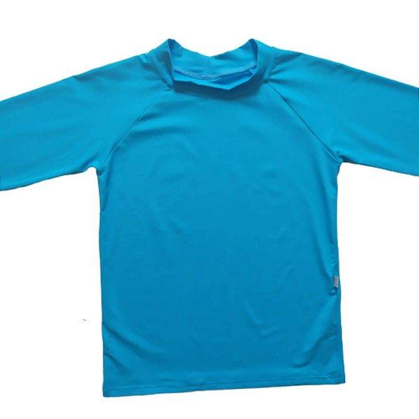 Camisa Com Proteção Solar Infantil Azul Claro 6010