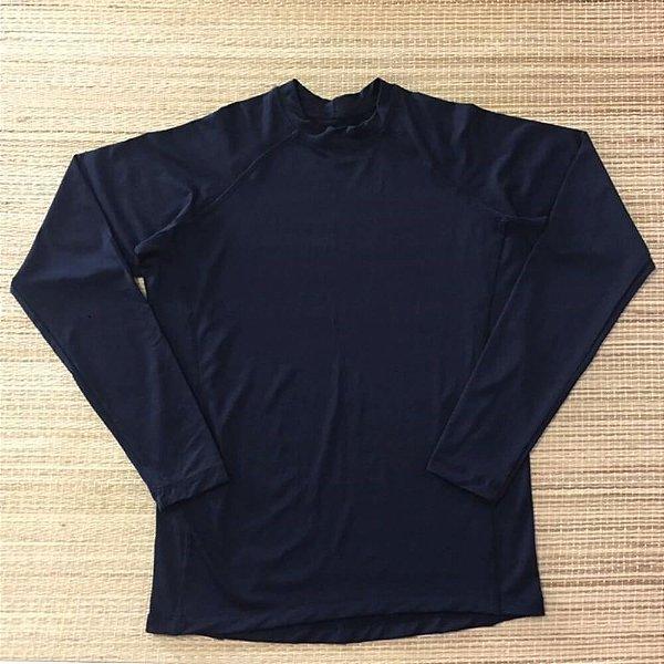 Camiseta Masculina Proteção Solar Preto 6016