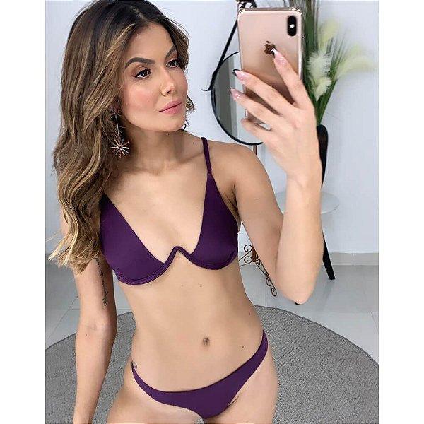 Conjunto Biquíni Aro Purple 2168 e 1098