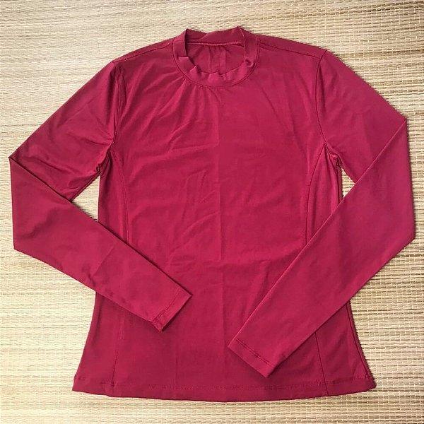 Blusa Proteção Solar Vinho 6017
