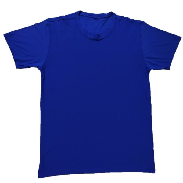 Camiseta Masculina Azul Royal 14010
