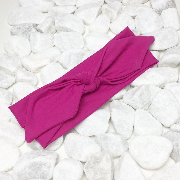 Turbante Cor Pink
