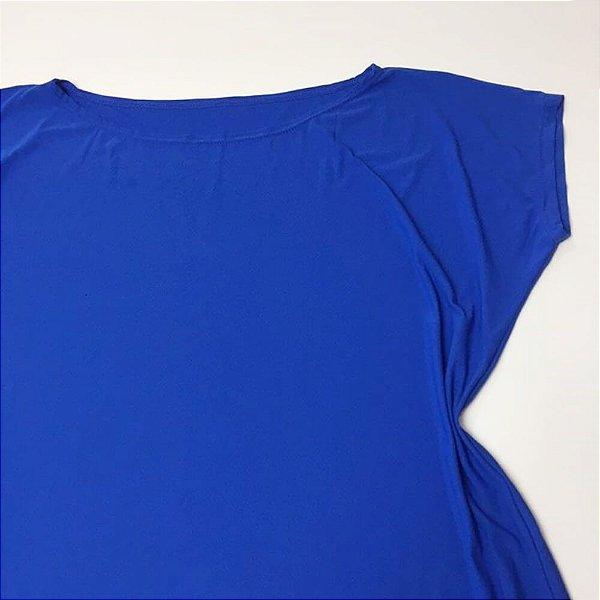 Blusa Ombro a Ombro Azul Royal 14009